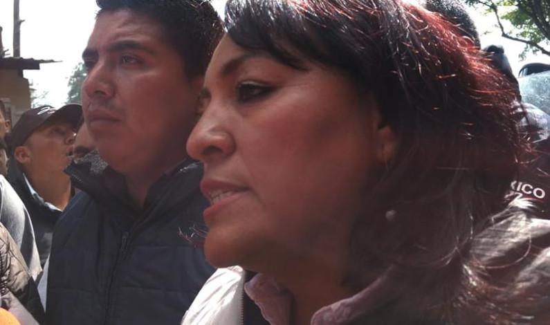 Advierte alcaldesa de Donato Guerra sin recursos que corresponden a su pueblo