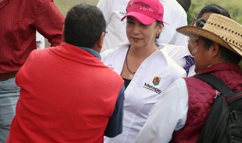 Cumple Metepec compromisos con San Bartolomé Tlatelulco