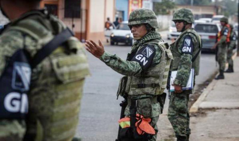 También resultaron secuestradores los de la Guardia Nacional