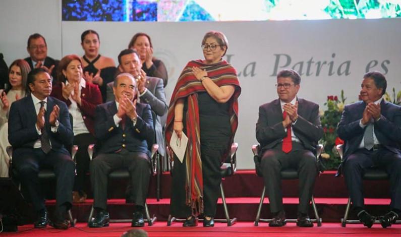 Rinde cuentas la senadora Martha Guerrero