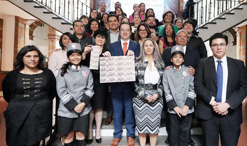 Reconoce Lotería Nacional a Orquesta Filarmónica de Toluca