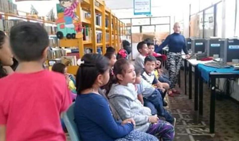 Inician cursos de verano en bibliotecas de Valle de Bravo