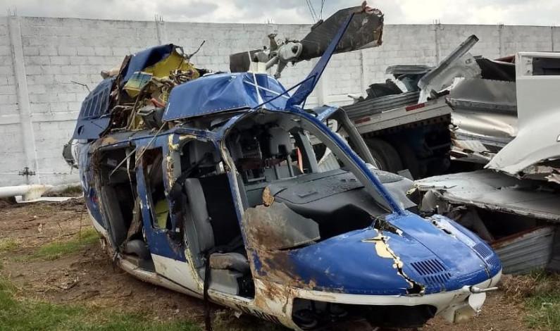 Aseguran policía que presuntamente derribó helicóptero en Sultepec