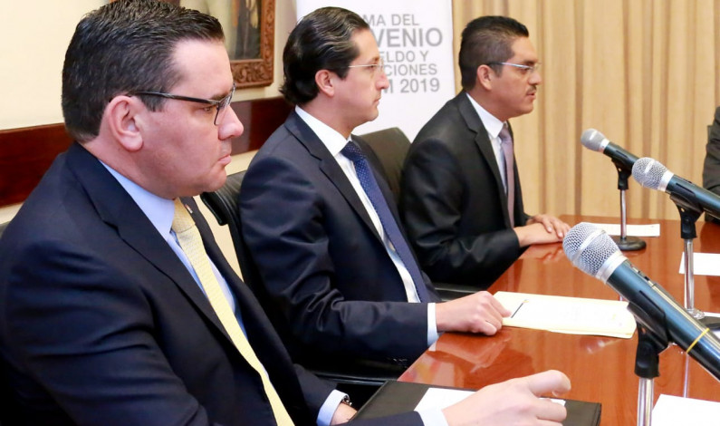 Recibirán maestros mexiquenses 6.25% de aumento salarial