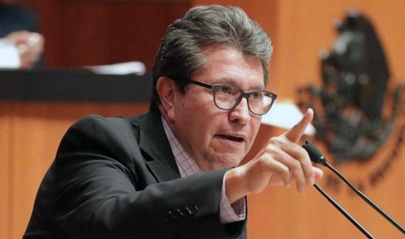 Ofrece Ricardo Monreal apoyo decidido al Edomex