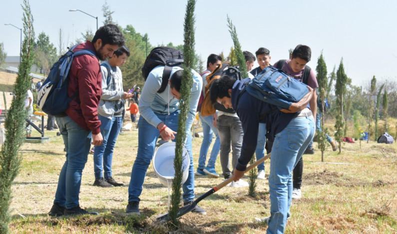 Reforesta Atizapán de Zaragoza más de 11 mil árboles