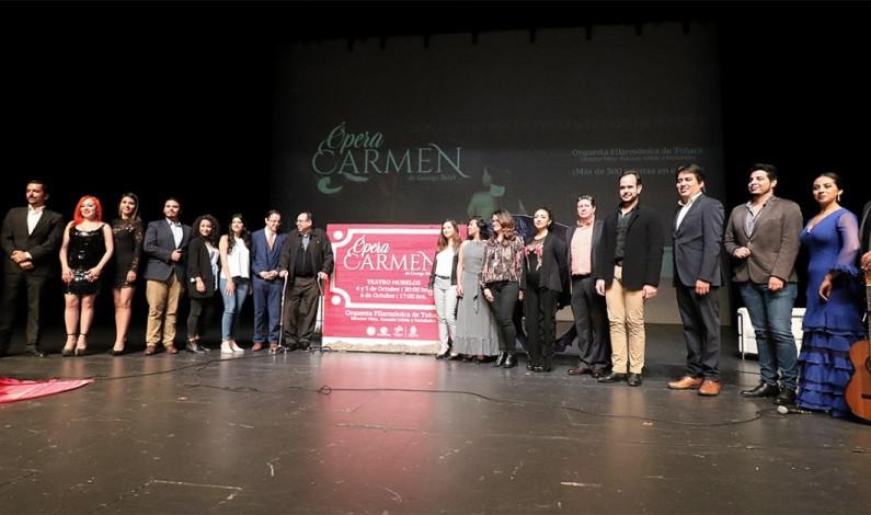 Se presentará la ópera Carmen en el Teatro Morelos de Toluca