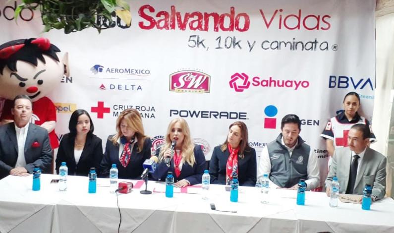 Invita Cruz Roja a la carrera anual Todo México Salvando Vidas