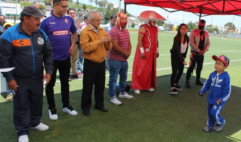 Concluye curso de verano Jungla Deportiva en Zinacantepec