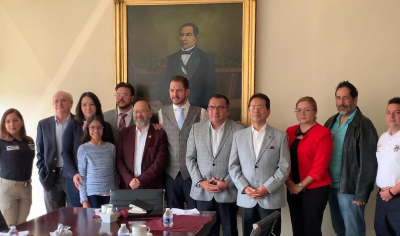 Unen esfuerzos contra delincuencia ayuntamiento de Naucalpan y COPARMEX