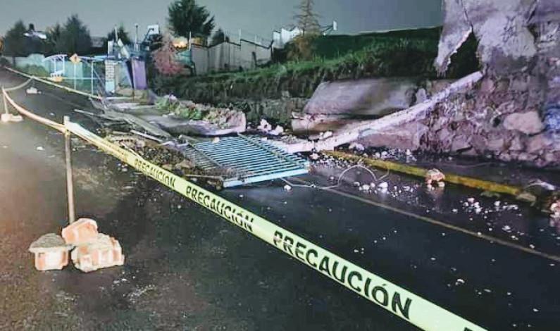Atiende Nicolás Romero inundación por desborde de río