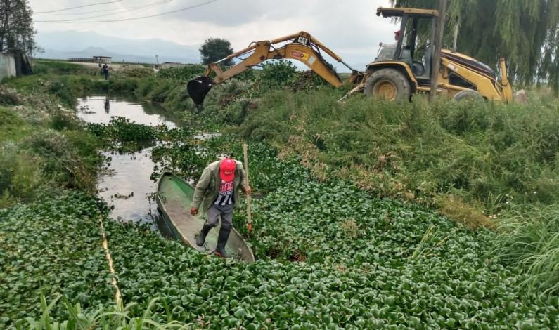 Retiran toneladas de basura que llega a San Mateo Atenco de Metepec y Toluca