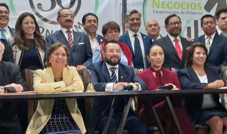 Preside Gilberto Sauza el Consejo de Cámaras Empresariales del Estado de México