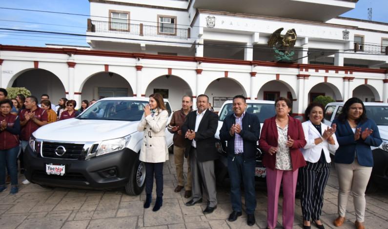 Moderniza Tultitlán parque vehicular de servicios públicos