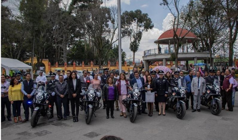 Fortalece Zinacantepec parque vehicular de seguridad pública