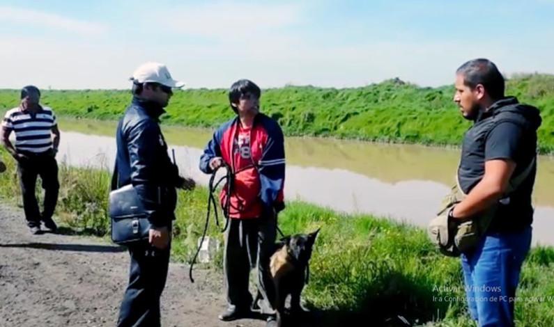 Buscan hombre desaparecido en el río Lerma