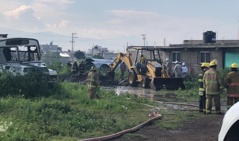 Evacuan 109 personas por fuga de gas en Tezoyuca; logran controlarla sin lesionados