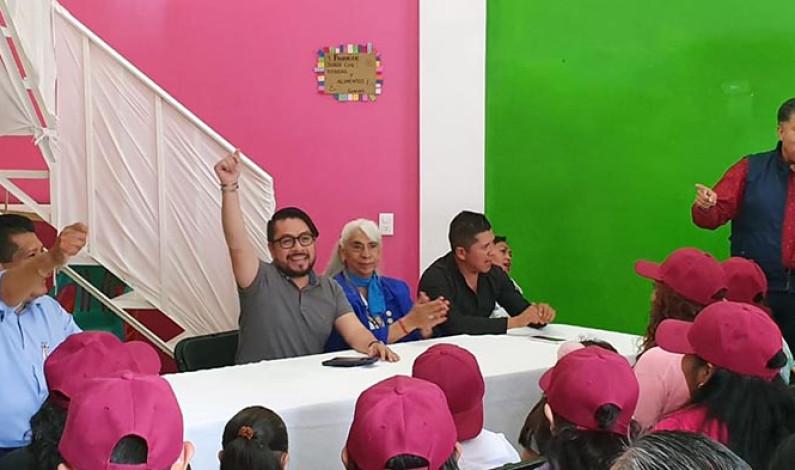Construye Morena unidad nacional desde el Estado de México