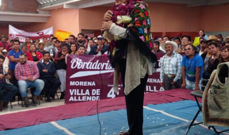 Morena respeta usos y costumbres de comunidades indígenas