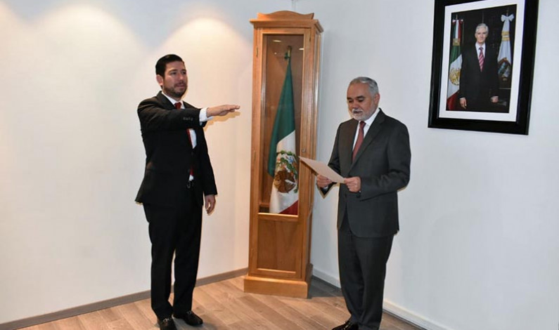 Hay nuevo coordinador de Administración y Finanzas en el ISEM