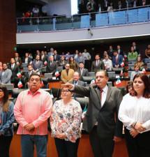 Ya es senador de la República Ricardo Moreno Bastida