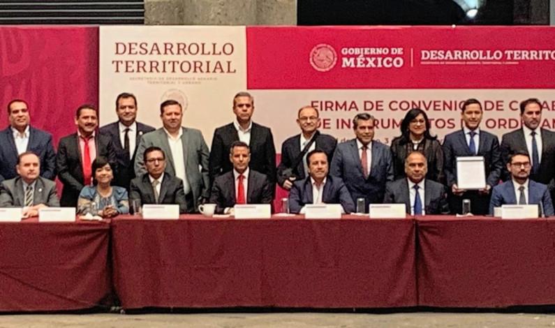 Recibirá Nicolás Romero 500 millones para mejoramiento urbano
