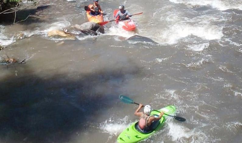 Organiza Temascaltepec competencia de kayak Ríos del Sur