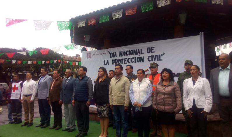 Celebró Valle de Bravo Día Nacional de Protección Civil