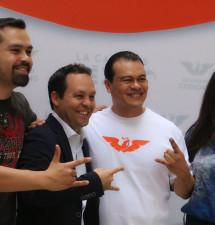 Se suma Juan Zepeda al Movimiento Naranja