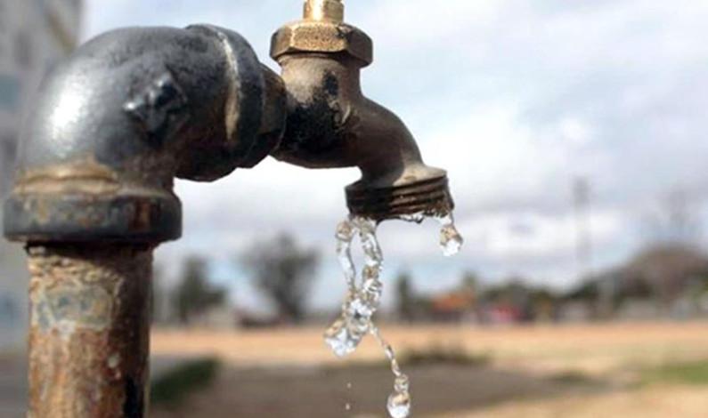 Habrá menos agua desde este lunes en Toluca