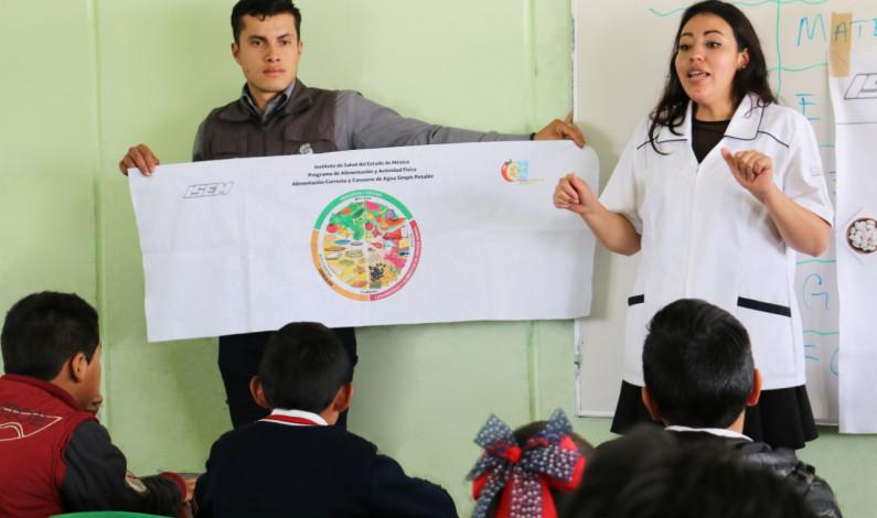 Cuenta Edomex con 511 Escuelas Promotoras de la Salud