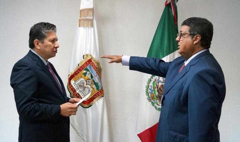 Fernando Morones nuevo Fiscal en Valle de Bravo