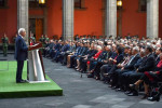 Asegura López Obrador que en México ya existe un auténtico Estado de Derecho