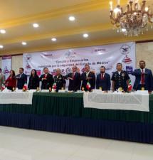 Estrechan esfuerzos autoridades y empresarios en el combate al delito