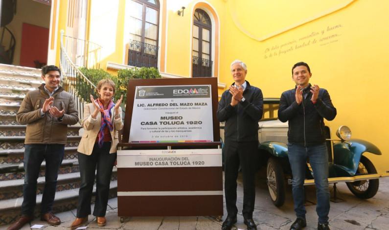 Inaugura Del Mazo Corredor de la Plástica Mexiquense