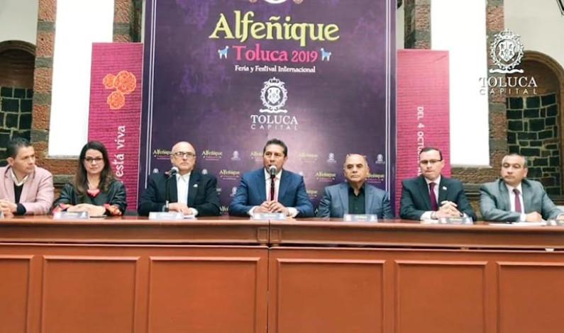 Tendrá talla internacional la Feria y Festival del Alfeñique Toluca 2019