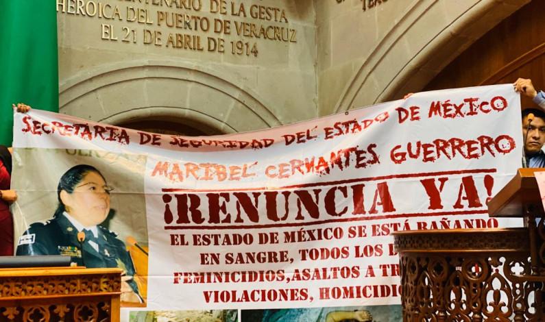 ¡Renuncia ya! Exigen a Maribel Cervantes