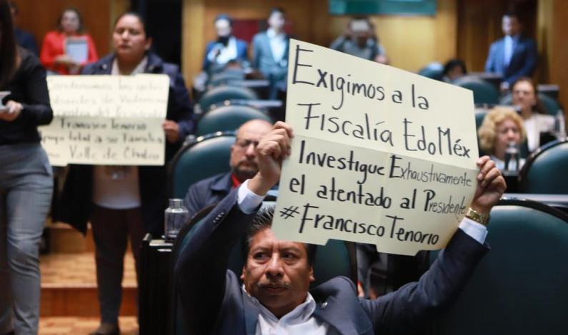 Condenan diputados de Morena atentado al alcalde de Valle de Chalco