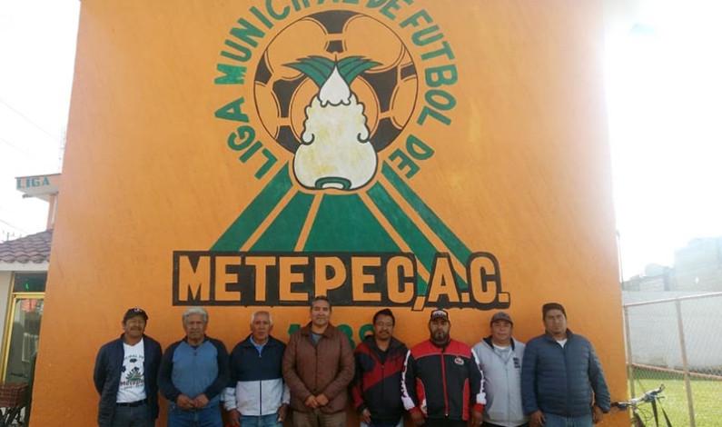 Quieren cobrar por jugar a la Liga Municipal de Futbol de Metepec
