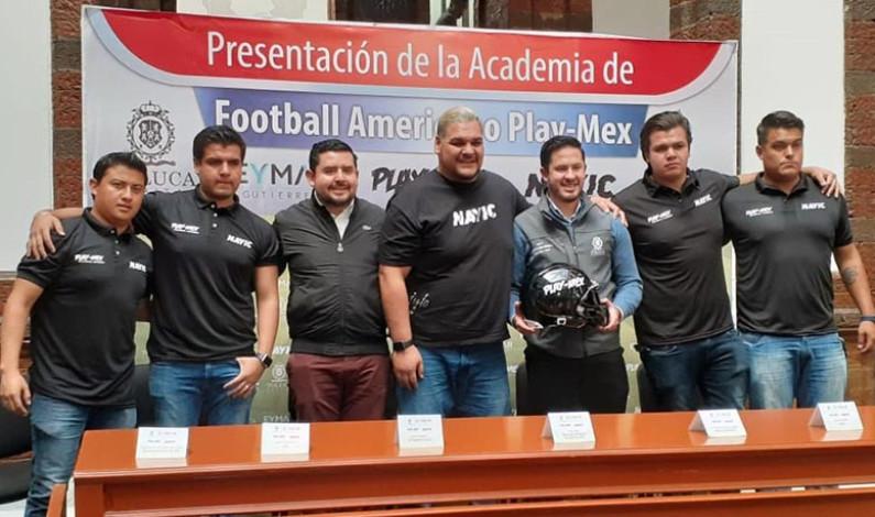 Tendrá Toluca academia de futbol americano para exportar talentos a EUA