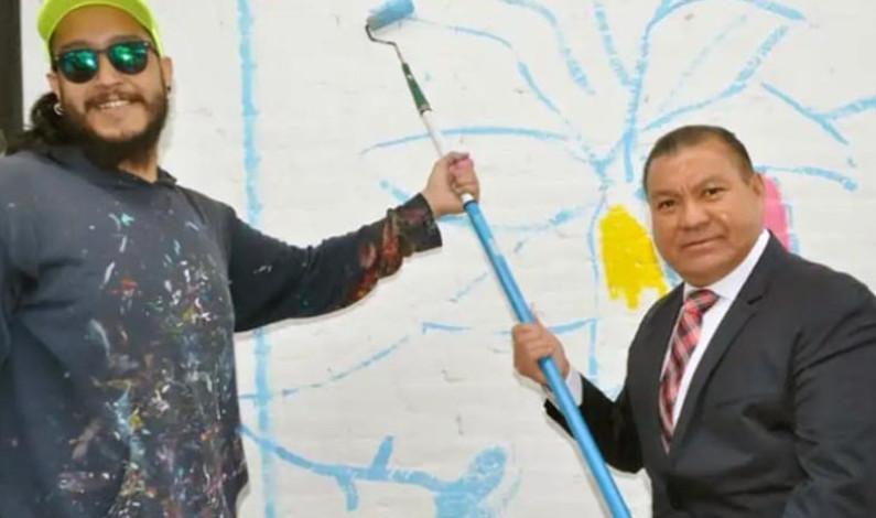 Muralistas del mundo se reunieron en San Felipe del Progreso