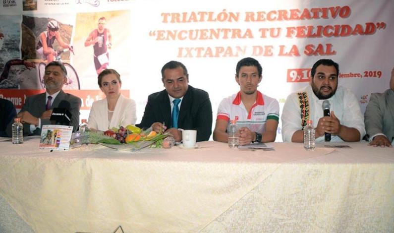 Tendrá prueba de triatlón el parque acuático Ixtapan de la Sal