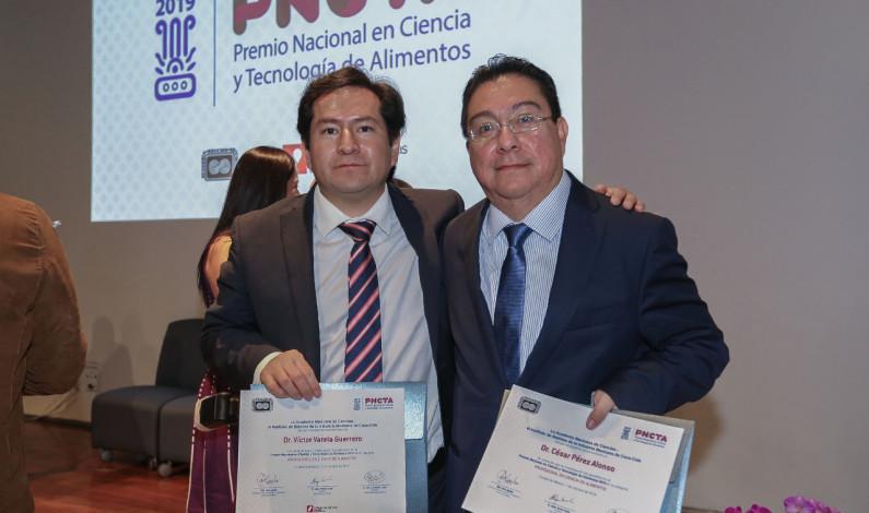 Conquistan investigadores de UAEM Premio Nacional en Ciencia y Tecnología de Alimentos 2019