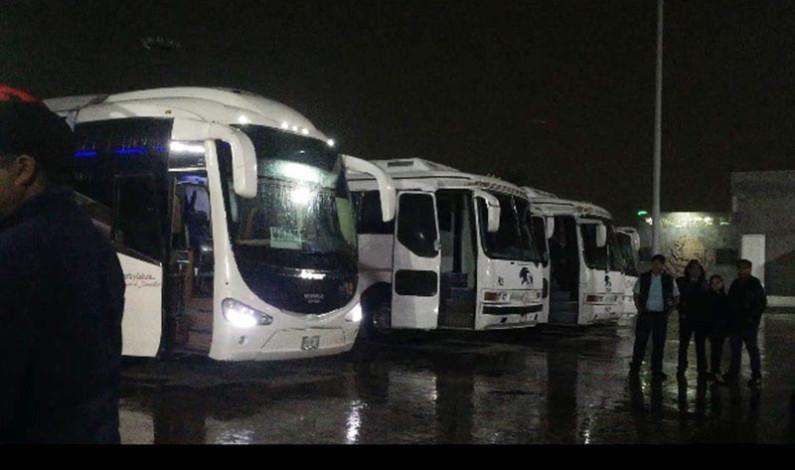Ofrecen transporte seguro y gratuito a estudiantes en Valle de Chalco