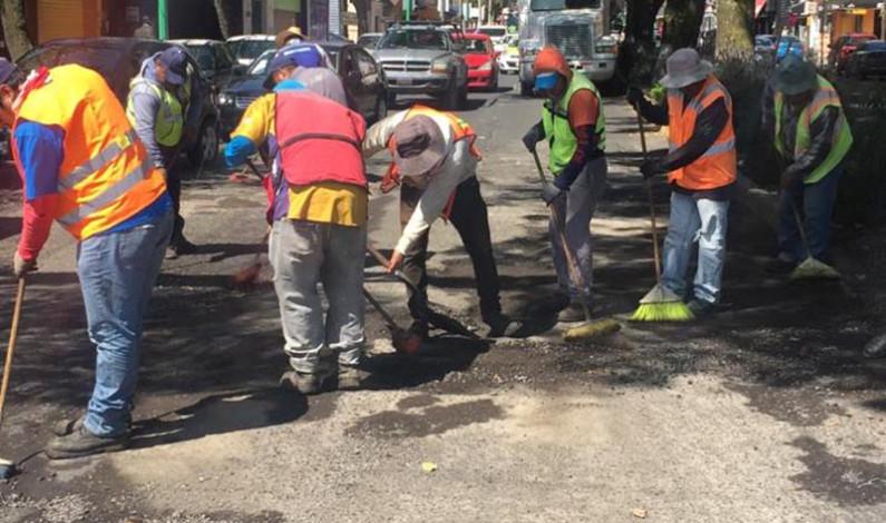 Recupera Toluca sus calles con programa de bacheo permanente