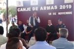 Emprende Almoloya de Juárez canje de armas