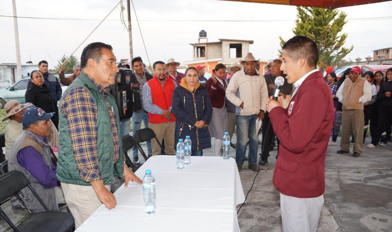 Trabaja Almoloya de Juárez en la dignificación educativa