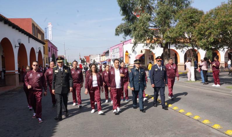 Celebra Almoloya de Juárez el inicio de la Revolución Mexicana