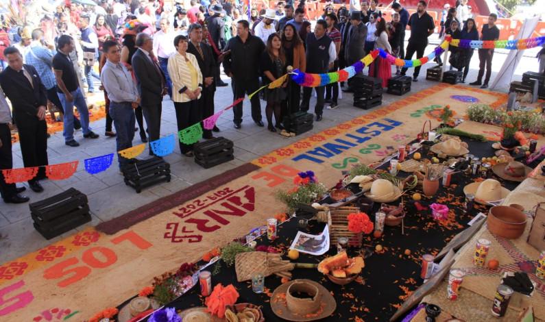 Todo un éxito el Festival del Día de Muertos en Nicolás Romero