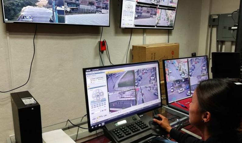 Incorpora Almoloya de Juárez 10 cámaras de video vigilancia